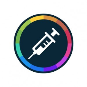 Colorful Web-Button